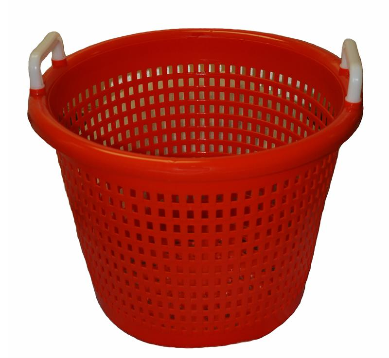 Orange Plastic Baskets