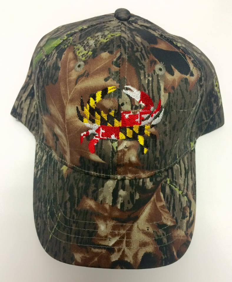 296b2054b9c ... coupon code for maryland flag crab embroidered baseball cap 292f7 1bb1b