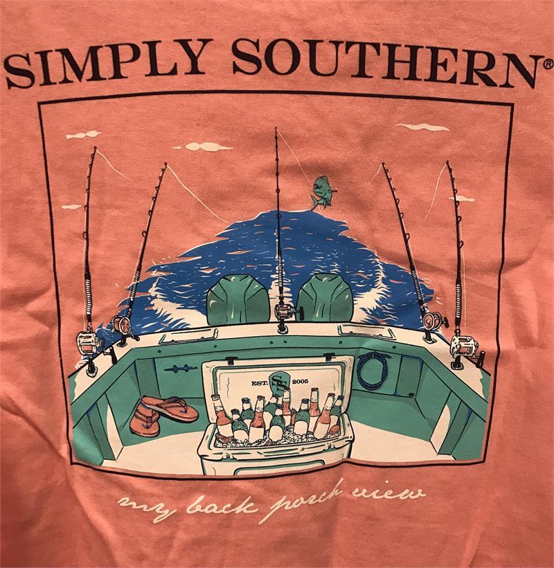 Simply Southern Quot Porch Quot Unisex T Shirt