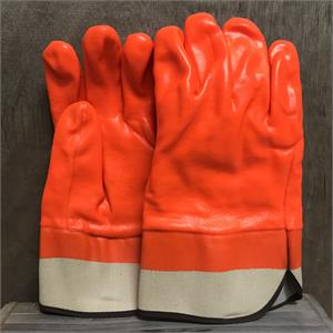 orange crab gloves