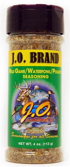 Wild Game/ Waterfowl/ Poultry Seasoning 4oz Container
