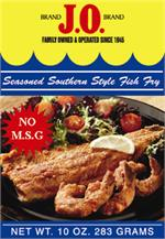 J o seasoned southern style fish fry for Southern fish fry batter