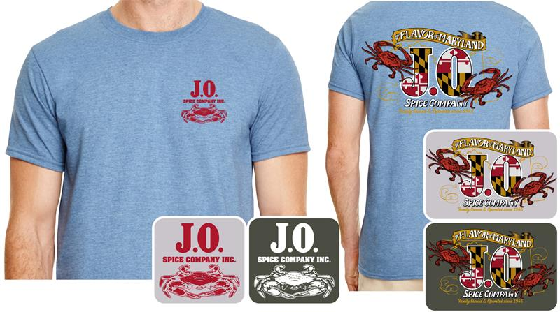 J O The Flavor Of Maryland T Shirt