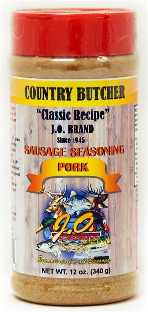 Pork Sausage Seasoning 12 oz  Container